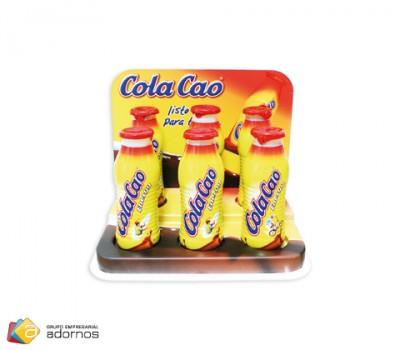 Expositor termoconformado Cola Cao