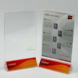 Acrylic menu holder A5