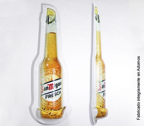 Botella visibilidad termoconformada