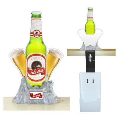 Abridor barra botella troquelada