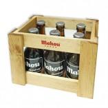 Caja madera de botijos Mahou Madrid