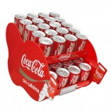 Mueble expendedor de cocacola metacrilato red