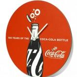 Reloj publicitario coca-cola