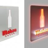 Luminoso dibond Mahou